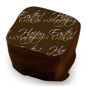 Happy Easter - White & Mango